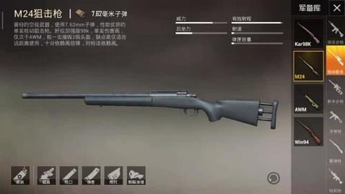 「战争精英枪械稳定」这几款枪械武器,你最喜欢运用哪一款?